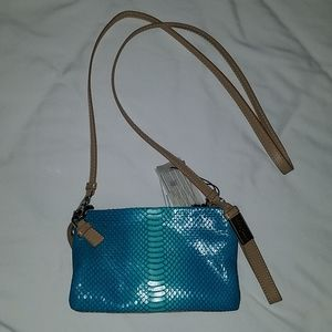 Flawless NWT Foley and Corinna Turquoise Snake